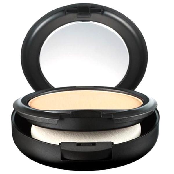 Venda quente NC Rosto Pó Maquiagem Estúdio Fix Rosto Em Pó Mais Fundação acabamento natural Em Pó sombra 15g NC DHL livre