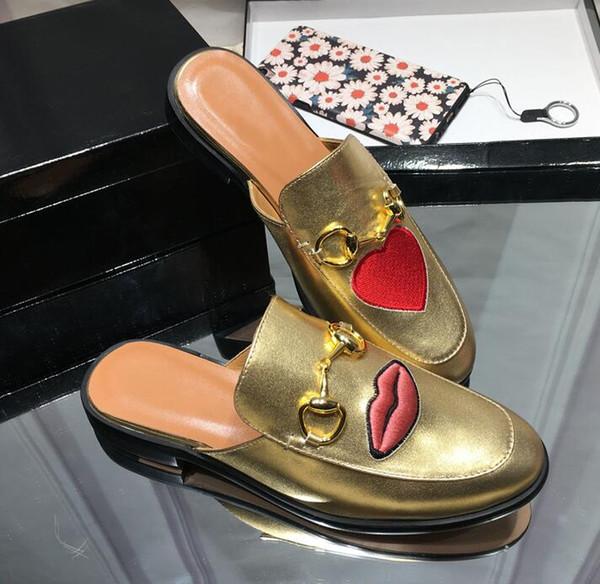 Schwarzer Stiefel aus PU mit Lippe Muster