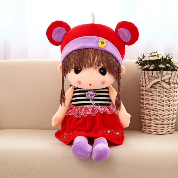 45 CM Mayfair Super Cute Princess Soft PP Cotton Stuffed Doll Plush Toy Doll Wedding Dolls Birthday Gift Girl Children Toys