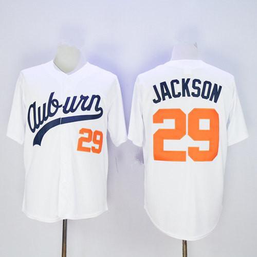 타이거스 # 29 Bo Jackson White