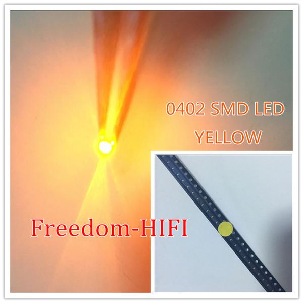 Compre SMD LED Chip Amarelo 0402 1005 Superfície Montagem SMT Beads Light  Emitting Diode Lâmpada LED De Qq_dh, $30 12 | Pt Dhgate Com
