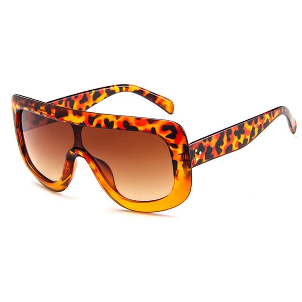 Leopard Brown Frame Brown Lens