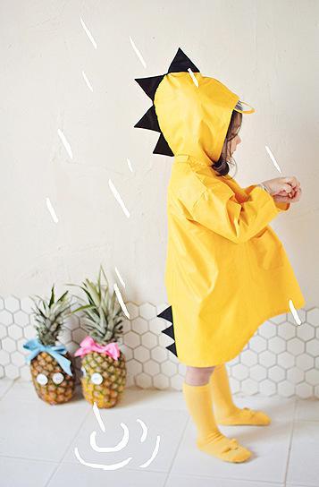 Carino piccolo dinosauro impermeabile poliestere giacca a pioggia ragazzo bambini ragazze antivento poncho scuola materna studente bambino impermeabile