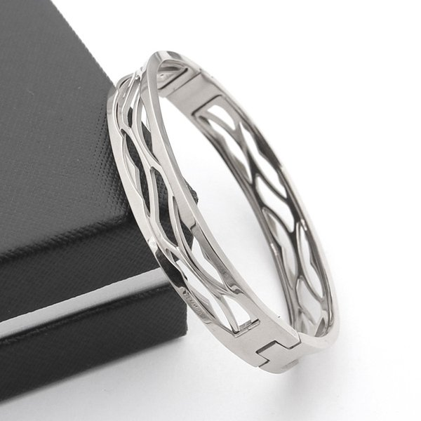 Jewelry Bijoux Rose Gold Color Bracelets For Women Bracelets & Bangles stainless steel jewelry wholesaleFashion stainless steel Bracelets&Ba