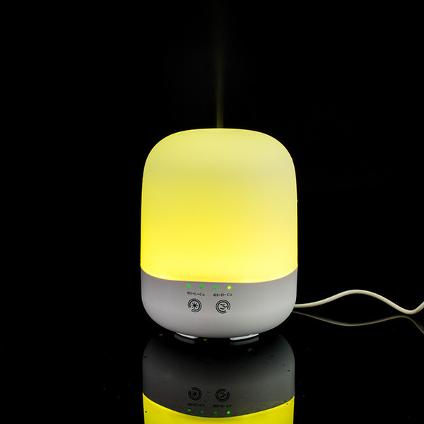 2017 New Ultrasonic Aroma Essential Oil Diffuser 300ml Aromatherapy Humidifier Mist Maker with 7 Color Night Lights