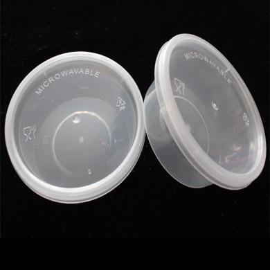 2016 Limitée Nouvelle Arrivée En Plastique 100pcs / lot-3oz-7.3x6x2.8cm Grade Pp Assaisonnement Boîte Jetable Dégustation Coupe Sauce Emballage À Emporter