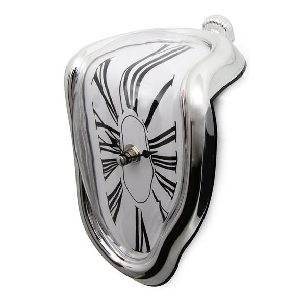 Wholesale- WSFS Hot Sale Melting clock art wall clock