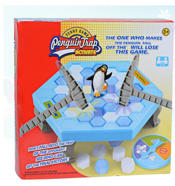 Ice Breaking Save The Penguin Great Family Fun Game Penguin Trap Activate Funny Table Game Interactive Entertainment Toy17