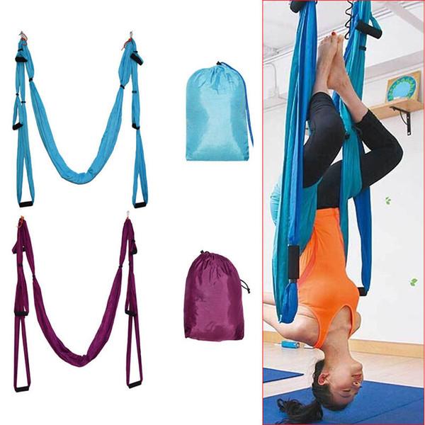 Shopping all'ingrosso-Feel / Aerial Yoga Hammock Swing Sling Trapeze Hammock Aerial Yoga Swing Deluxe Aerial