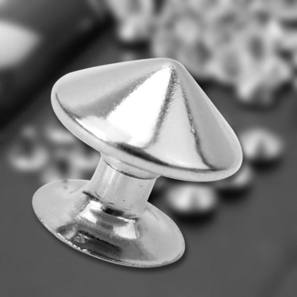 Borchie per Rivetti in Metallo A Stella Dorata 100Pcs per Accessori in Pelle per Abbigliamento da Giacca