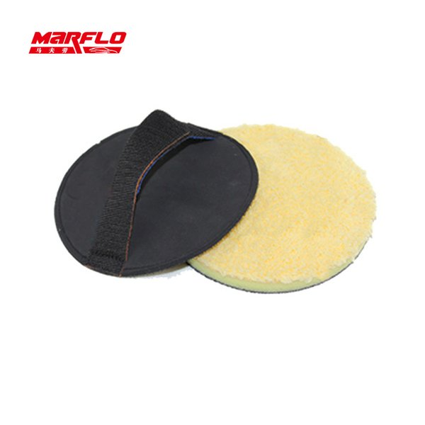 Vente en gros - Applicateur de peinture à la cire pour automobile Magic Clay Pad Holder Porte-étiquette en argile brillant Care Care Detail Marflo de Brilliatech