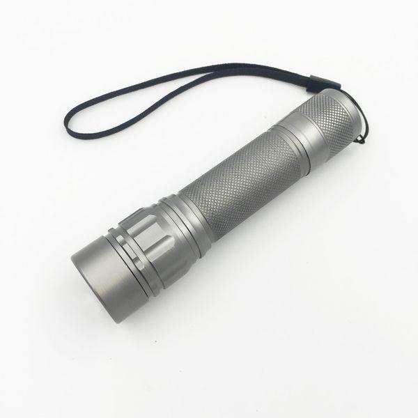 telescopic focus 2000 Lumen Zoomable XM-L Q5 LED Flashlight Torch ,Zoom Lamp Light Black/Gold/Gray Lanterna LED 3 Modes use 18650 Penlight