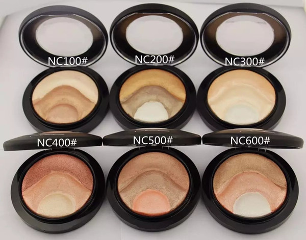 Selling makeup face powder 10g mineralize kin fini h powder de finition 6 color can choo e dhl hipping