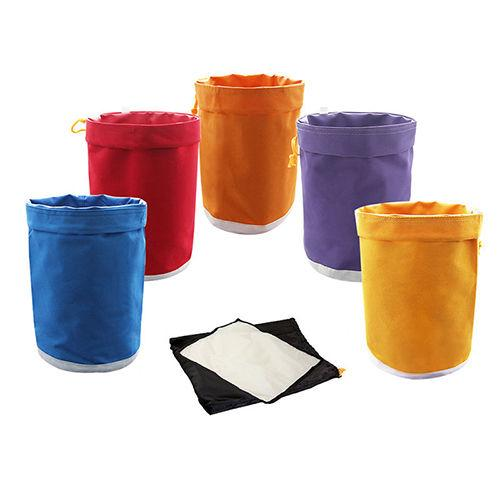5 Bag Kit Free Press Screen Bubble Ice Bags 5 Gallon Hash Herb Oil Extraction Oxford Filter Bags Garden Grow Bag 5 Color