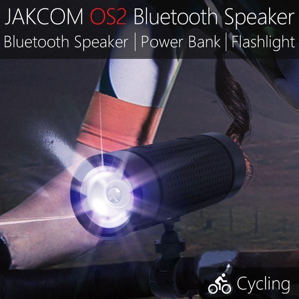 2017 Più nuovo prodotto Jakcom di altoparlante Bluetooth OS2 tre in un altoparlante esterno che si integrano con la funzione di banca di potere torcia elettrica