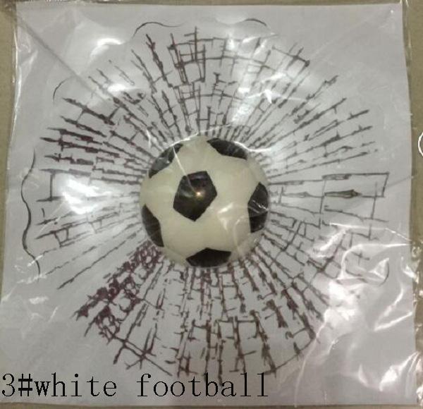 3 # football blanc