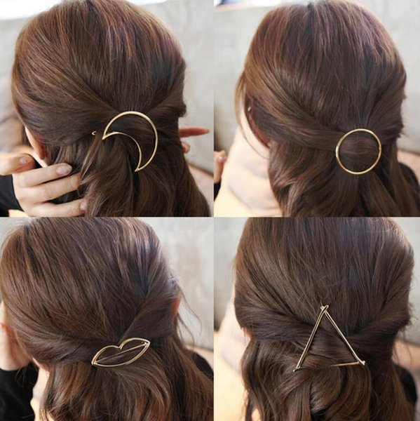 2019 Best Gift Hair Ornaments Sweet Metal