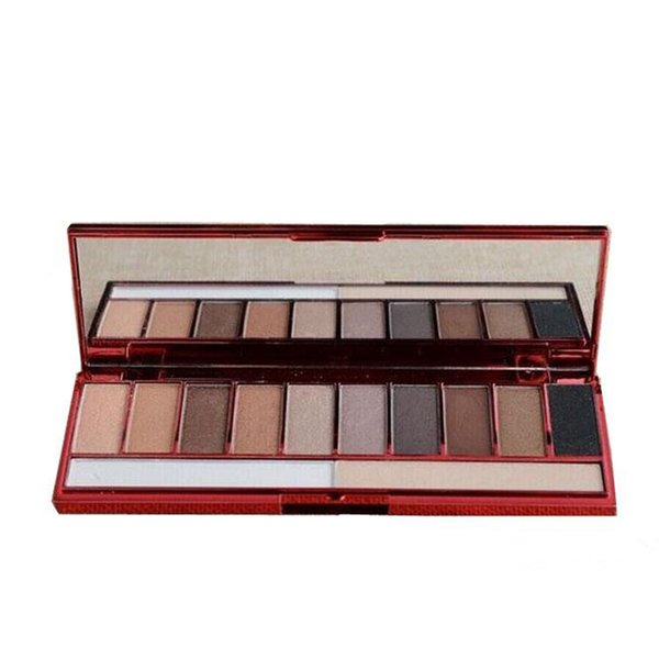 Hot 3PCS/SET Lorac Valentine's Day Edition Palett LORAC Pro Rockin' Red Hot Smoky Red Sexy Palette set 10color Eyeshadow Palette 100sets