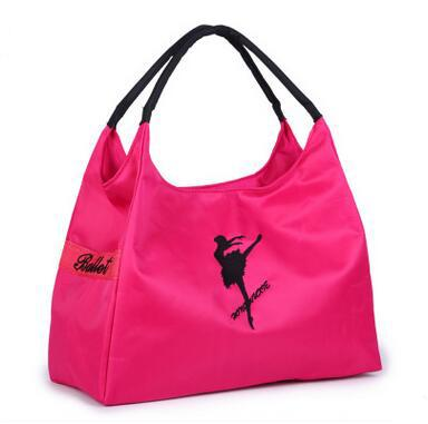 For Sale Fashion Embroidery Ballet Bags Latin Yoga Dance Gym Handbags Large Capacity Waterproof Sport Bags Shoulder Bags