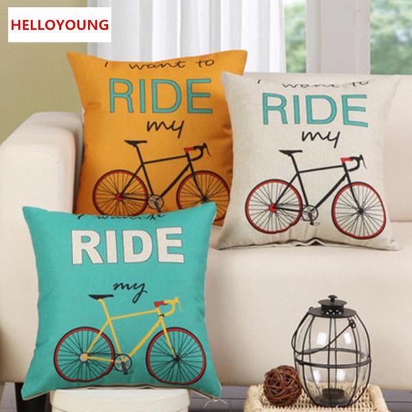 BZ079 Cuscino di lusso fodere per cuscini Tessili per la casa forniture lombari Cuscino per bicicletta cuscini decorativi sedia sedile