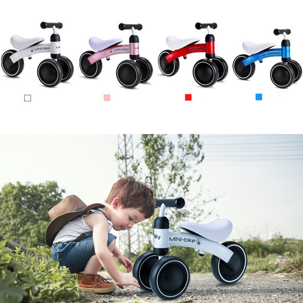 Brand Children Balance Bikes Scooter Baby Walker Infant 1-3years Scooter No Foot Pedal Driving Bike Gift for Infant Three Wheels
