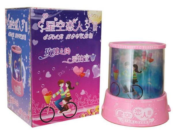 Star Light sleep lamp child birthday gift diy creative toys luminous men and women rotating projector with music