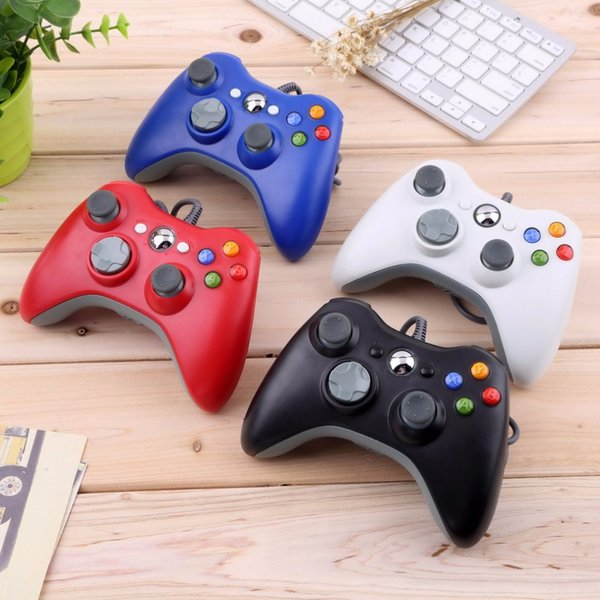 New USB Wired Joypad Gamepad Controller For Microsoft for Xbox Slim 360 for PC Windows7 Joystick Game Controller