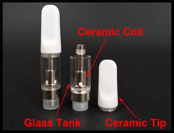 mini e cigarette dual coil ceramic glass cartridge atomizer bud pen vaporizer fit for preheating 400mah twist vv battery 2017