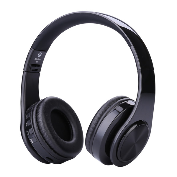 best selling 2017 New Wireless Headphones WH812 3.0+EDR Bluetooth headphones wireless headset with MP3 Player Micphone for Smart Phones PC V126 DHL free
