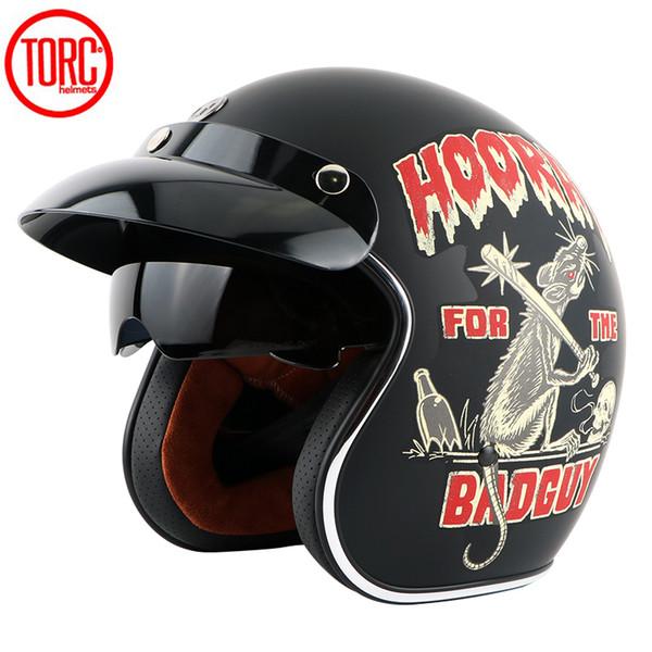 Jet Vintage Retro helmet, inner visor, ECE,Free shipping,US TORC open face 3/4 motorcycle motorcross Casco Capacete helmet,