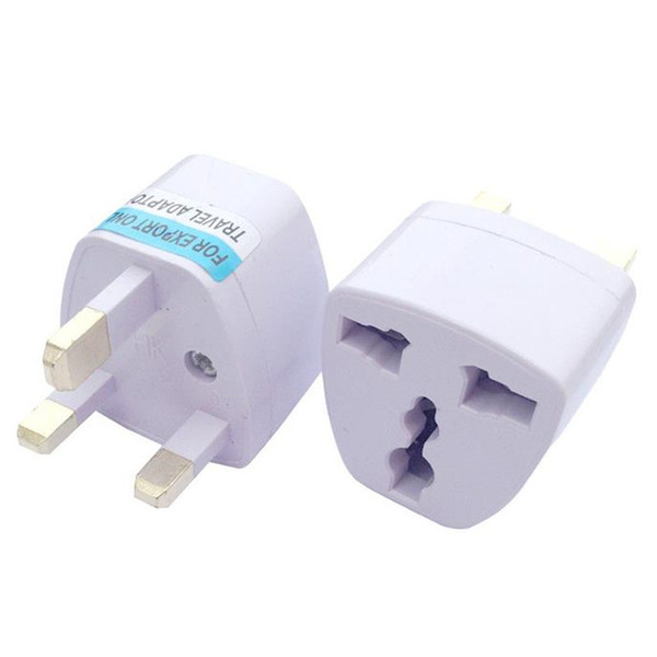 top popular Universal Travel Adapter EU US AU to UK AC Travel Power Plug Charger Adapter Converter 250V 10A Socket Converter White fast shipping 2020