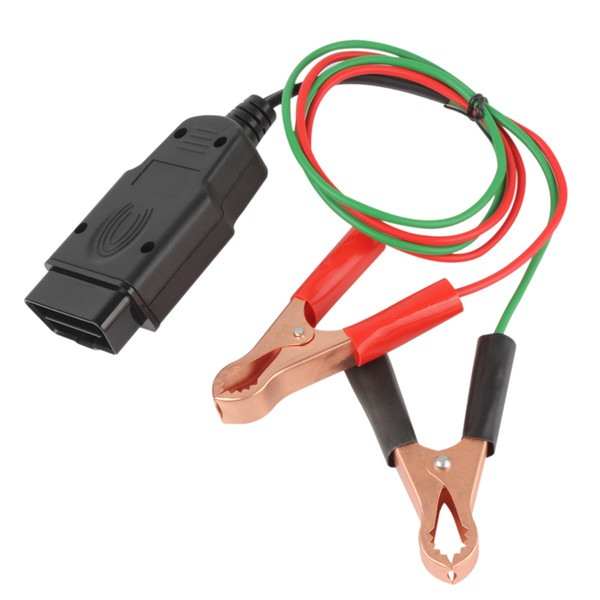 Auto-Diagnose-Kabel-Steckverbinder Memory Saver ECU Power Interface Stecker Fahrzeug ECU Notstrom für 12V DC-Stromquelle