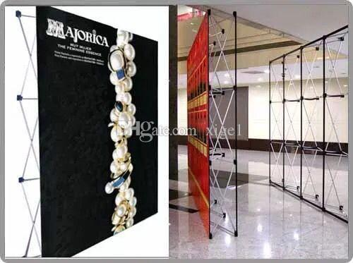 Aluminum flower Wall stand frame for Tradeshow Straight Tension Banner Exhibition Display Stand Trade Show Wall