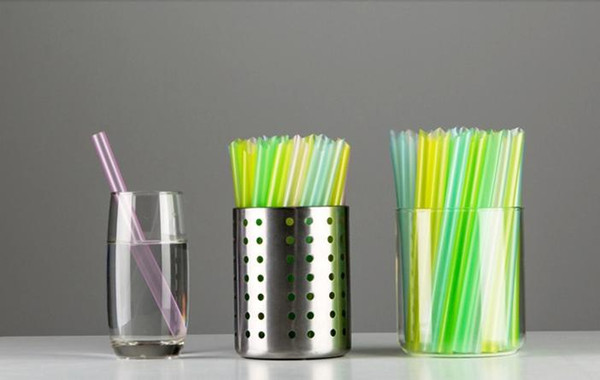 2500 Pieces 12*180mm Straight Wide Drinking Straw for Thick Shakes Boba Bubble Tea Smoothies Fat Drink Straws Fast Free Shipping