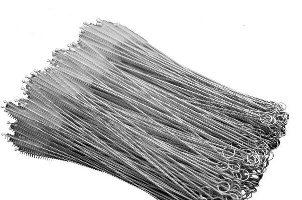 Spazzola per pulizia paglia in acciaio inox Spazzola per pulizia paglia in nylon Spazzola per la pulizia del tubo in acciaio inox