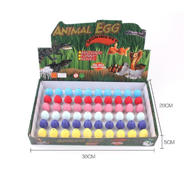 best selling Wiben Novelty Gag Toys Children Toys Cute Magic Hatching Growing Dinosaur Eggs For Kids Educational Toys Gifts