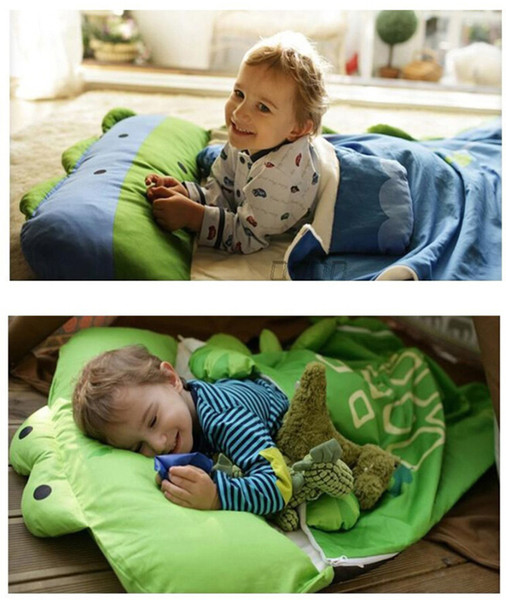 purchase cheap f1a11 56039 Animal Baby Sleeping Bag Kids Sleeping Sack Infant Toddler Sleeping Bag  With Pillow Increase Thickening Can Open 0 1 2 3 4 Year Best Down Sleeping  ...