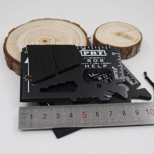 2017 Yeni Çok 14 Fonksiyonları SOS Mini Taşınabilir Pocket Knife Kredi Sabre Kart Aracı Açık Survival Bıçaklar Kamp EDC Araçları Ücretsi ...