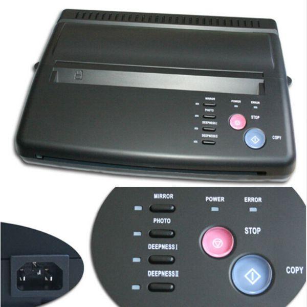 A4 Transfer Paper black Tattoo copier thermal stencil copy Transfer Machin Copier Maker Transfer Copier Machine Tattoo accessories Supplies