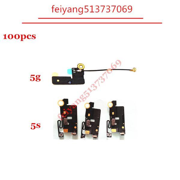 100pcs WiFi Antennensignal empfangen Flexbandkabel-Reparatur-Teil für iphone 5 5s