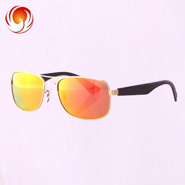 Real Polarized Super light glasse Aviation Sunglasses Flash Mirrored Lens Women Brand Designer High Quality Sun Glasses driving glasses
