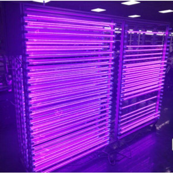 T8 G13 LED UV 395-400nm 365nm 5ft 2ft 1ft 6-24W AC100-240V Leuchtstoffröhren 24-144LED CE-ROHS FCC PF0.95 Blubs Lampe Ultraviolett-Desinfektion Germ