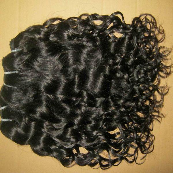 Tomada de fábrica Preço 2016 Novas Ondas Barato Não Transformados Brasileiro natural encaracolado cabelos 2 pcs / 200 gram Thicke Rainha Cabelo Verificado Fornecedor