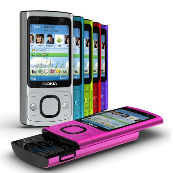 Refurbished Original Nokia 6700S 6700 Slide Unlocked Phone Symbian OS 2.2 inch Screen 5.0MP Camera GSM 3G Cell Phone Free Post 1pcs