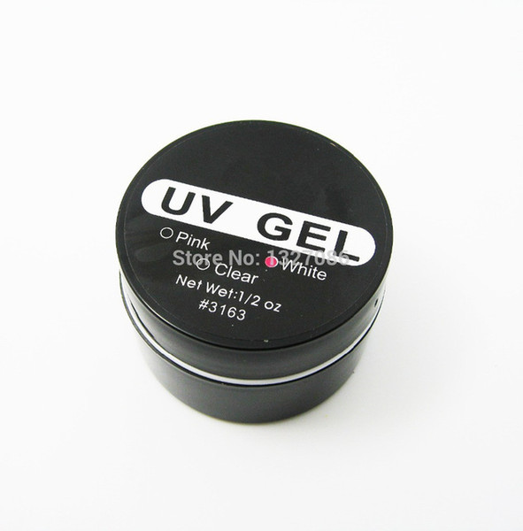 Wholesale- 1Pcs Nail Art UV Gel Builder Tips Glue White Extension Manicure professional U&G Hot Brand