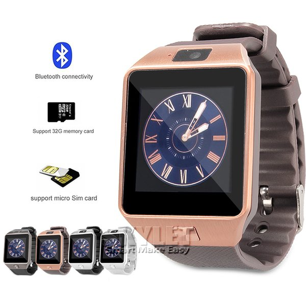 DZ09 Smart Watch GT08 Wristband Android Smart SIM Intelligent Smartwatches Can Record The Sleep State 100pcs Up With Retail Package