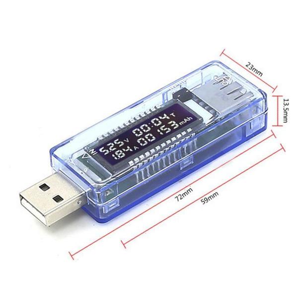 Strumenti Caricatore USB Medico Rilevatore di potenza mobile Tensione di batteria Tester Strumenti di misurazione corrente