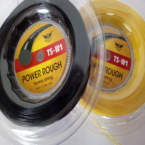 quality same to the luxilon 660ft 200m reel Rough tennis string