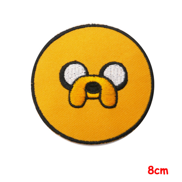 CARTOON GREATS SERIES Awesome Iron-On Patches fabric applique decoration patch for Jacket Jeans Clothing hats badge