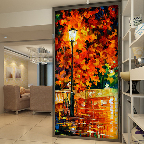 carta da parati personalizzata foto albero Abstract Art Home Decor Parete murale Parete per il corridoio del portico muro di carta soggiorno